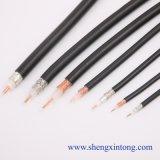 Câble coaxial de liaison Rg174 de la qualité 50ohm