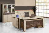 현대 디자인 호화스러운 사무실 테이블 행정상 책상 나무로 되는 가구