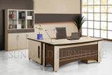 Meubles en bois de bureau de conception moderne de bureau exécutif de luxe de Tableau