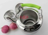 Strainerのステンレス製のSteel Color Handle Kettle