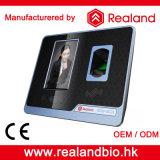 Realand 얼굴 승인 지문 시간 출석 기계