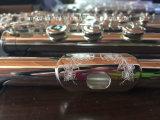 16 furos abertos que gravam a flauta de prata do teste padrão (FL-280S)