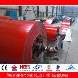 Tráfico PPGI rojo de Ral 3020
