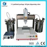 Machine de distribution adhésive de résine automatique de mouvement d'axe du certificat 3 de la CE