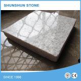真珠の壁のタイルおよび床タイルのための白い花こう岩のタイル