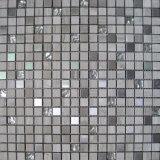 Inoxidable cristalino del mármol del mosaico Mezclado Estilo (FYSMG112)