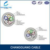 Cable de aluminio acorazado de la fibra de la antena de GYTA/de la cinta de 48 bases del conducto