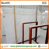 Natürlicher Volakas weißer Marmor für Wand-Fußboden-Fliesen