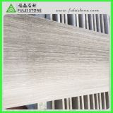 Белая деревянная мраморный тонкая плитка