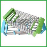 Edelstahl 304 Küchenbedarf-Teller-trocknende Zahnstangen-Küche-Geräte