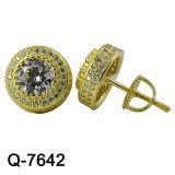 새로운 디자인 형식 보석 귀걸이 925 은 (Q-7642, Q-7643, Q-7644, Q-7644R, Q-7645, Q-7646)
