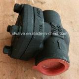 API602 Acero al carbono forjado A105 soldadura extremo del pistón Válvula de retención