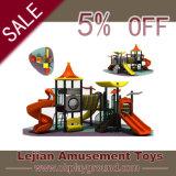Cour de jeu multijoueuse simple d'amusement de glissière de modèle traditionnel pour l'école maternelle (X1514-1)