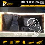Trituradora de pulido del molino de martillo de la explotación minera del balanceo del mineral de piedra para el polvo