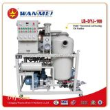 Planta industrial da purificação do óleo de lubrificação - Dyj-100