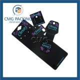 Cartão de jóias de impressão vermelha para colar (CMG-038)
