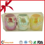 Plastikkräuselnfarbband-Ei für Weihnachtsdekoration