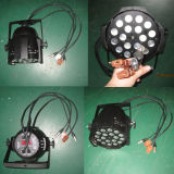 IGUALDAD 64 del zoom LED de DMX 18X18W RGBWA+UV 6in1