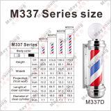 Muestra clásica poste del peluquero de la venta caliente M337