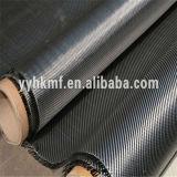 Paño de alta resistencia de la fibra del paño/arriba del carbón de la fibra del carbón