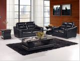 Living Room Sofa with Genuine Leather Sofa