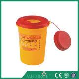 Contenitore tagliente medico caldo approvato dei contenitori di rifiuti di vendita 1L di CE/ISO (MT18086102)