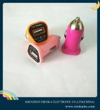 Автомобиля USB одного универсалии 5V 1A Promotinal заряжатель цветастого миниого Port передвижной для галактики iPhone 6/5/4s Samsung