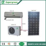 90% Energien-Einsparung Acdc 9000BTU Solarklimaanlage