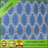 Le plastique de tissu tissé par qualité rassemblent le réseau olive
