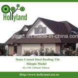 Azulejo de azotea de acero revestido de piedra (tipo de la ripia)
