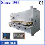 CE Standard Hidráulica Guillotina Shearing Machine, Nc Shear Modelo QC11Y 13 X 4000