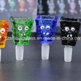 Rauchende Glaszubehör Squarepants für Großverkauf mit 14 bis 18mm dem Weibchen durch glänzendes Glas