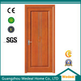 Porta de madeira personalizada do PVC do projeto para a casa com o E1 (WDP5002)