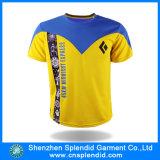 Maglietta degli uomini promozionali poco costosi di alta qualità della maglietta cinese