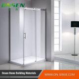 Puerta simple de la ducha con el acero inoxidable 304