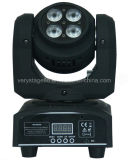 Double Face 10W Beam LED Feu de tête mobile 4X10W RGBW Wash LED Moving Head Light