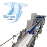 Machine à emballer servo de couches-culottes de bébé d'entraînement