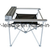 Topsales Aluminiumleichtgewichtler-kampierender im Freien faltbarer Tisch mit Patent