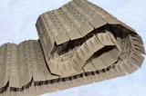 側面の転送のための溝を彫られた端のプラスチックモジュラーコンベヤーベルト