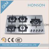 Fornuis het van uitstekende kwaliteit van de Inductie van Cooktop van het Gas van de Oven van het Gas van het Keukengerei