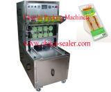 La venta vertical de la máquina del lacre del rectángulo del emparedado del vacío tiene gusto de las tortas calientes