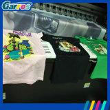 販売のためのCmykそして白いカラー顔料インクTシャツプリンターGarrosデジタルのTシャツの印字機