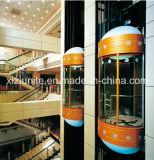 Panoramisches Elevator mit Glass Cabin für Sightseeing