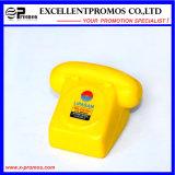 Téléphone de mousse d'unité centrale de jouet d'anti-stress personnalisé par logo (EP-P555111)