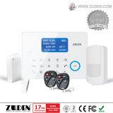 タッチ画面が付いている無線強盗GSMのホームセキュリティーの警報システム