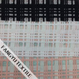 Горячая продавая Striped ткань шнурка для платья