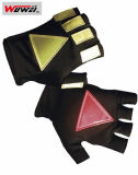 Gants r3fléchissants de la police de la circulation de coton (FGST-WW02 (coton))