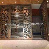 El panel decorativo tallado perforado de aluminio del metal para la cerca, pantalla, pared, tabique, fachada