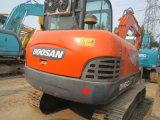 Excavador usado de Doosan/Daewoo Dh60-7, pequeño excavador usado de Doosan