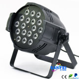 18*12W RGBW 6 In1 de Disco Bar LED PAR Light van DJ (sf-305)
